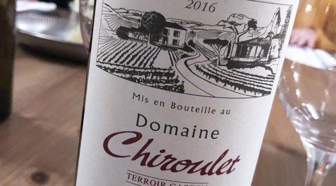 2016 Domaine Chiroulet, Terroir Gascon, Sud-Ouest, Frankrig