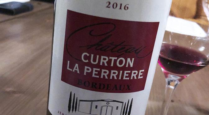 2016 Château Curton la Perriére, Bordeaux Contrôlée, Bordeaux, Frankrig