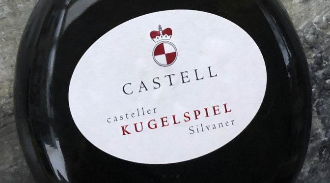 2017 Fürstlich Castell'sches Domänenamt, Casteller Kugelspiel Silvaner, Franken, Tyskland
