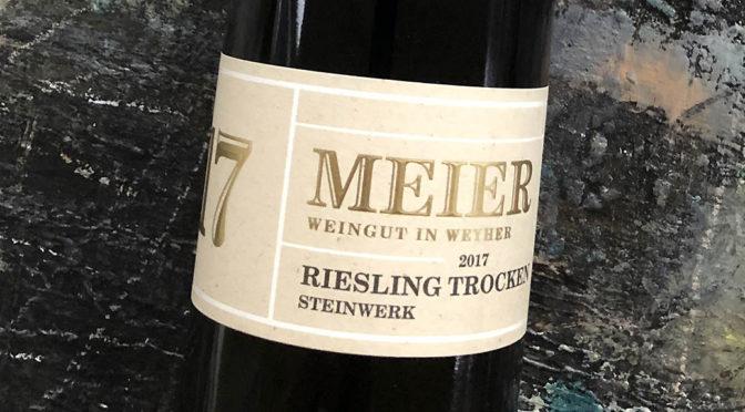 2017 Weingut Meier, Riesling Steinwerk, Pfalz, Tyskland