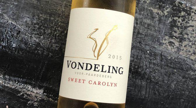 2015 Vondeling Wines, Sweet Carolyn, Western Cape, Sydafrika