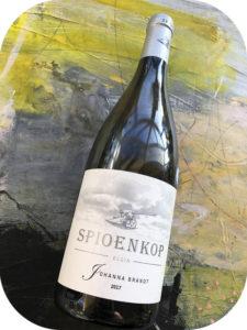 2017 Spioenkop Wines, Johanna Brandt, Elgin, Sydafrika