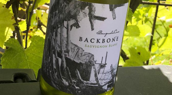 2018 Benguela Cove, Backbone Sauvignon Blanc, Walker Bay, Sydafrika