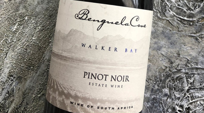 2018 Benguela Cove, Estate Pinot Noir, Walker Bay, Sydafrika
