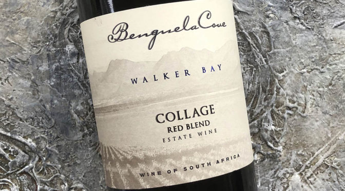2017 Benguela Cove, Estate Collage Red Blend, Walker Bay, Sydafrika