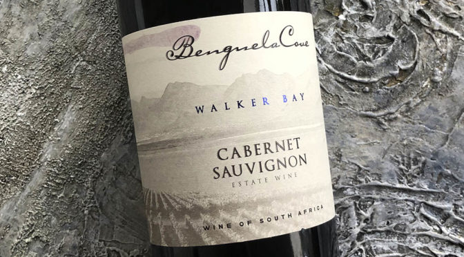 2017 Benguela Cove, Estate Cabernet Sauvignon, Walker Bay, Sydafrika