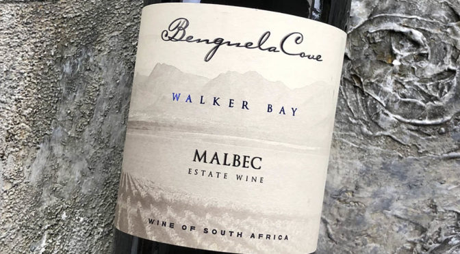 2017 Benguela Cove, Estate Malbec, Walker Bay, Sydafrika