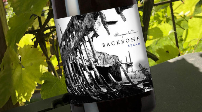 2018 Benguela Cove, Backbone Syrah, Walker Bay, Sydafrika