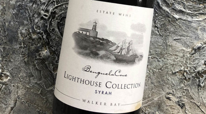 2017 Benguela Cove, Lighthouse Collection Syrah, Walker Bay, Sydafrika