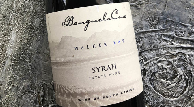 2017 Benguela Cove, Estate Syrah, Walker Bay, Sydafrika