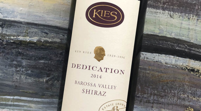 2014 Kies Family Wines, Dedication Shiraz, Barossa Valley, Australien