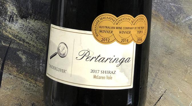 2017 Pertaringa, Undercover Shiraz, McLaren Vale, Australien
