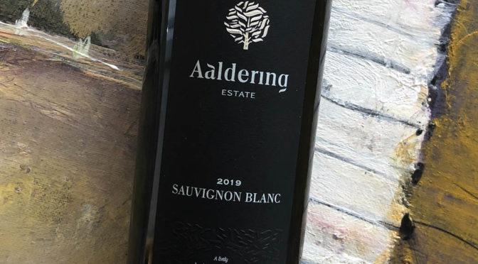 2019 Aaldering Vineyards & Wines, Sauvignon Blanc, Stellenbosch, Sydafrika