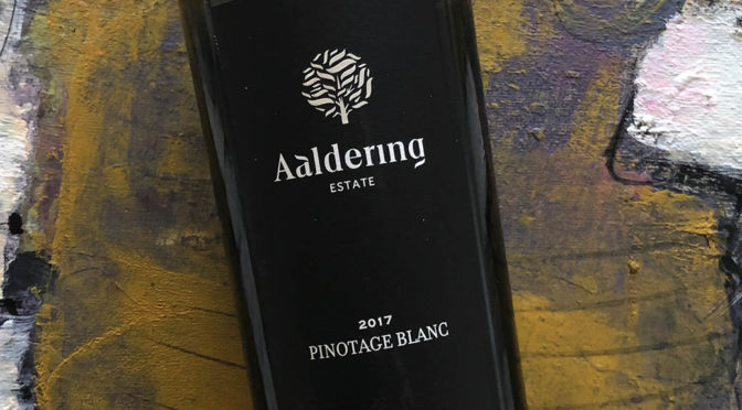 2017 Aaldering Vineyards & Wines, Pinotage Blanc de Noir, Stellenbosch, Sydafrika