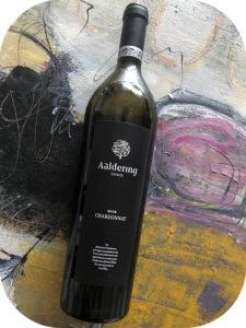 2018 Aaldering Vineyards & Wines, Chardonnay, Stellenbosch, Sydafrika