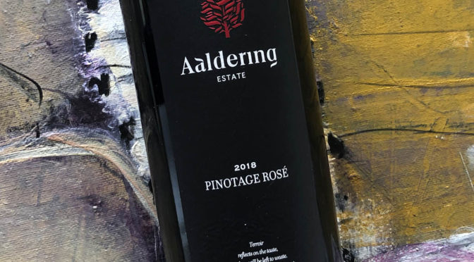 2018 Aaldering Vineyards & Wines, Pinotage Rosé, Stellenbosch, Sydafrika