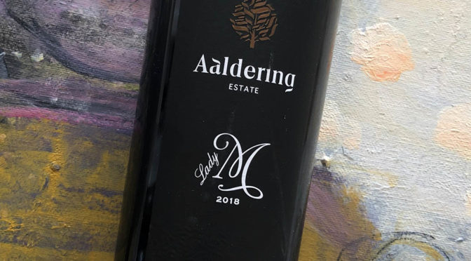 2018 Aaldering Vineyards & Wines, Estate Lady M, Stellenbosch, Sydafrika