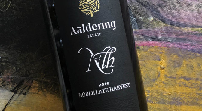 2016 Aaldering Vineyards & Wines, Noble Late Harvest, Stellenbosch, Sydafrika