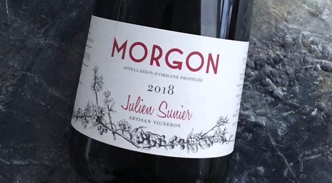 2018 Julien Sunier, Morgon Charmes, Bourgogne, Frankrig