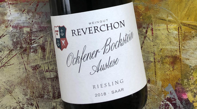 2018 Weingut Reverchon, Ockfener Bockstein Riesling Auslese, Mosel, Tyskland