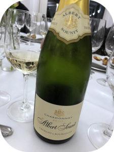 2017 Albert Sounit, Crémant de Bourgogne Chardonnay Brut, Bourgogne, Frankrig
