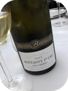 2017 Domaine Bernollin, Montagny 1. Cru Les Coères, Bourgogne, Frankrig
