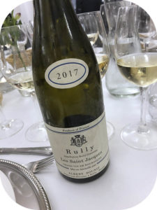 2017 Albert Sounit, Rully Blanc Les Saint Jacques, Bourgogne, Frankrig