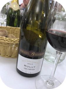 2017 Domaine Bernollin, Rully Les Chênes, Bourgogne, Frankrig