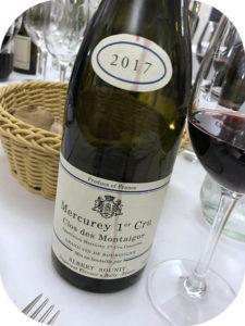 2017 Albert Sounit, Mercurey 1. Cru Clos de Montaigus, Bourgogne, Frankrig