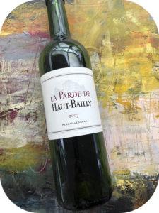 2007 Château Haut-Bailly, La Parde de Haut-Bailly, Bordeaux, Frankrig