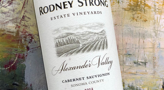 2012 Rodney Strong, Alexander Valley Cabernet Sauvignon, Californien, USA