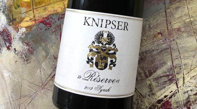 2012 Weingut Knipser, Syrah Réserve, Pfalz, Tyskland