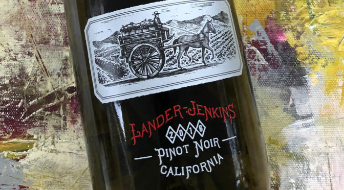 2016 Rutherford Wine Company, Lander-Jenkins Pinot Noir, Californien, USA