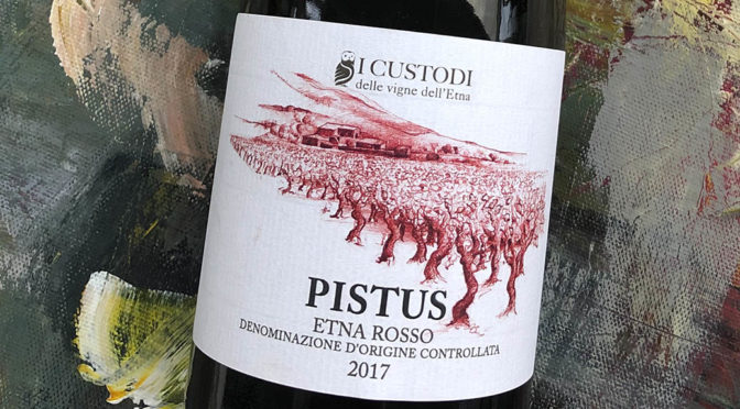 2017 I Custodi, Pistus Etna Rosso, Sicilien, Italien