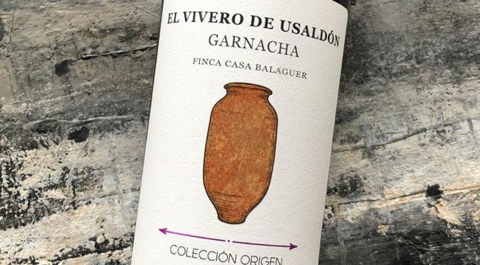 2018 Vinessens, El Vivero de Usaldón Garnacha, Valencia, Spanien