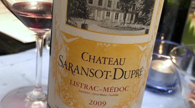 2009 Château Saransot-Dupré, Listrac-Médoc Cru Bourgeois, Bordeaux, Frankrig