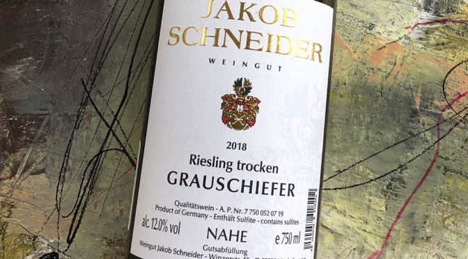 2018 Weingut Jakob Schneider, Grauschiefer Riesling Trocken, Nahe, Tyskland