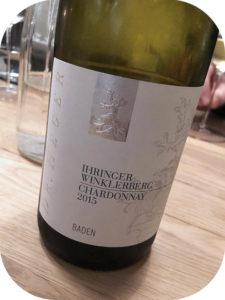 2015 Weingut Dr. Heger, Ihringer Winklerberg Chardonnay, Baden, Tyskland