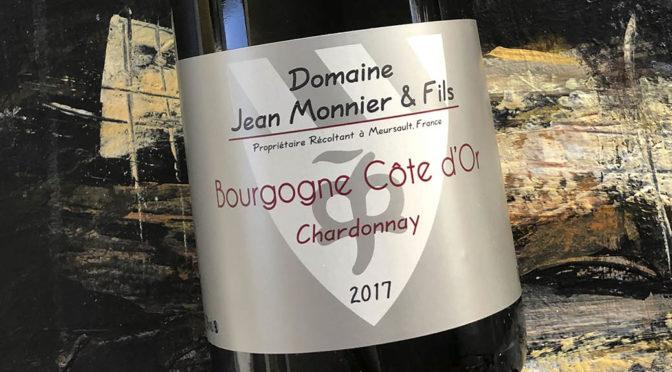 2017 Jean Monnier & Fils, Bourgogne Côte d'Or Chardonnay, Bourgogne, Frankrig