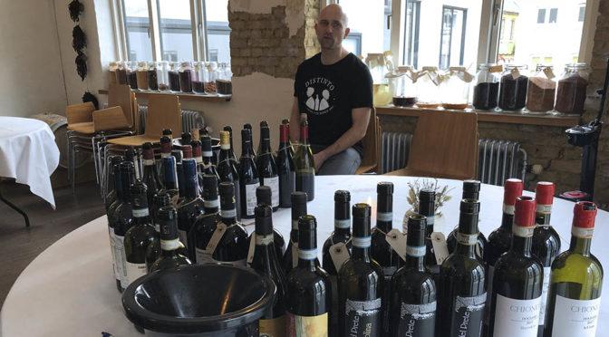 Houlberg til Distinto branchesmagning … en eftermiddag med alt for lækker vin