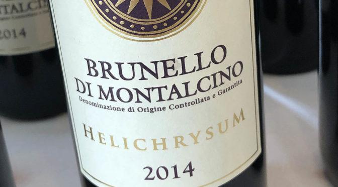 2014 San Polino, Brunello di Montalcino Helichrysum, Toscana, Italien