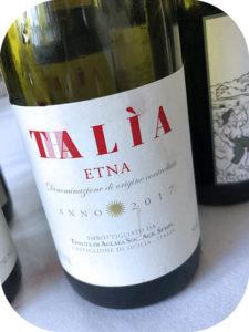 2017 Tenuta di Aglaea, Etna Rosso Thaliá, Sicilien, Italien