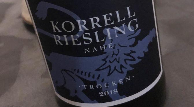 2018 Weingut Korrell, Riesling Trocken, Nahe, Tyskland