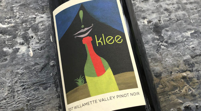 2017 Roots Wine Company, Klee Willamette Valley Pinot Noir, Oregon, USA