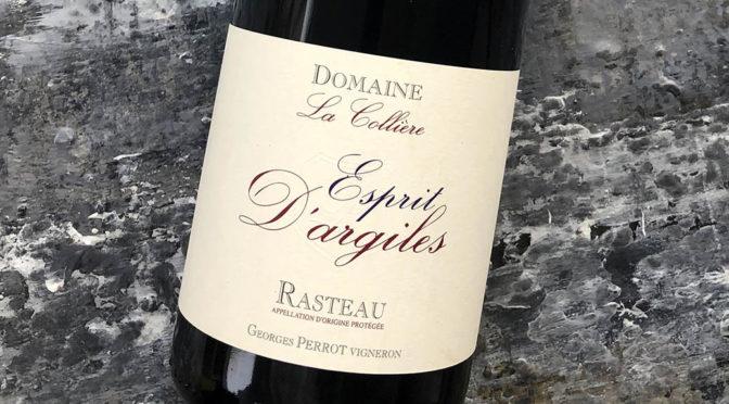 2017 Domaine la Collière, Rasteau Esprit D'argiles, Rhône, Frankrig
