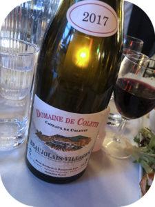 2017 Domaine de Colette, Beaujolais-Villages Coteaux de Colette, Bourgogne, Frankrig