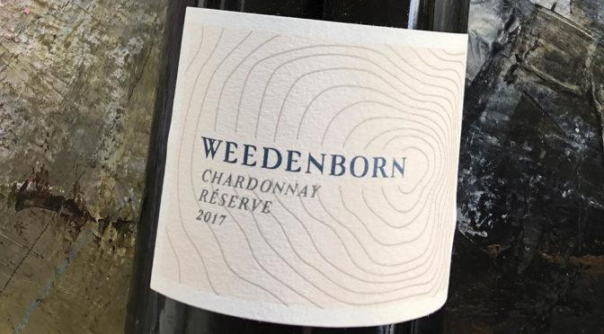 2017 Weingut Weedenborn, Chardonnay Réserve, Rheinhessen, Tyskland