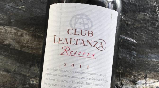 2011 Bodegas Altanza, Club Lealtanza Reserva, Rioja, Spanien