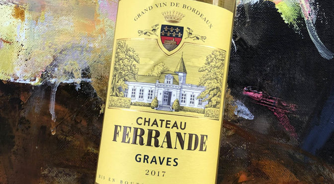 2017 Château Ferrande, Graves Blanc, Bordeaux, Frankrig