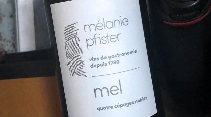 2017 Mélanie Pfister, Mel Quatre Cépages Nobles, Alsace, Frankrig